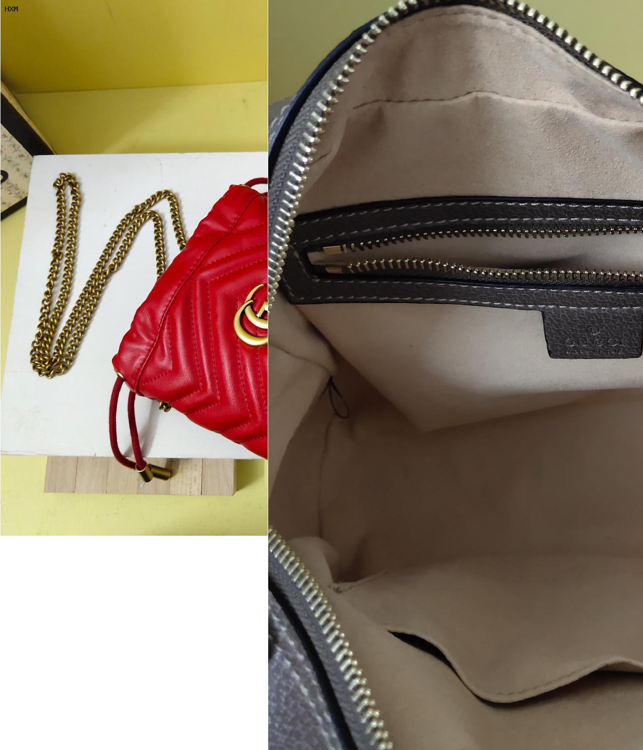 borsa e cintura gucci